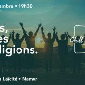 Chill & Sciences • Droits, jeunes et religions.