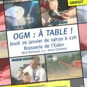 OGM : à table !